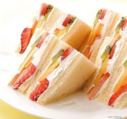 In Japan, these dessert sandwiches are quite popular.