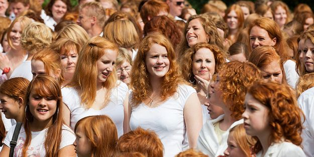 Red hair comes in so many different shades, and yet each one is vibrant. How is this possible? Magic, most likely. | 21 Reasons Why Being A Redhead Is Awesome