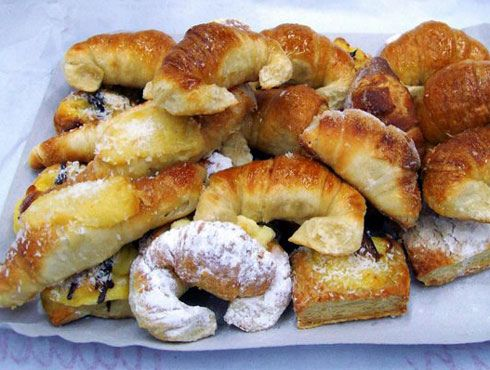 """Facturas"": typical for breakfast or snack with an Mate (typical Argentinian drink). Argentina."