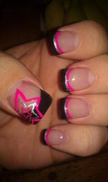 Ohh Emm Gee! If you know me you know my star fetish is hard core! This will be my next nail design! #promise
