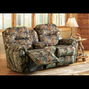 Cheap Sofas Camo for two Best Home Furnishings Bodie Seclusion D Love Seat With Console And Power