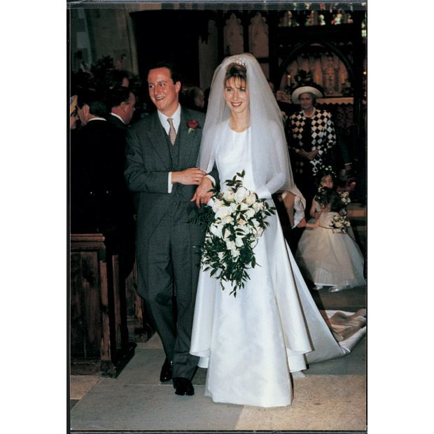 Prime Minister, David Cameron married Samantha Gwendoline Sheffield on June 1 1996 at Ginge Manor in Oxfordshire.