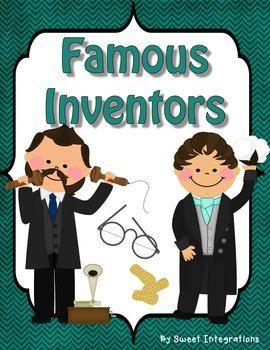 Famous Inventors - Biography Study (Just Updated!!) (scheduled via http://www.tailwindapp.com?utm_source=pinterest&utm_medium=twpin&utm_content=post1548989&utm_campaign=scheduler_attribution)
