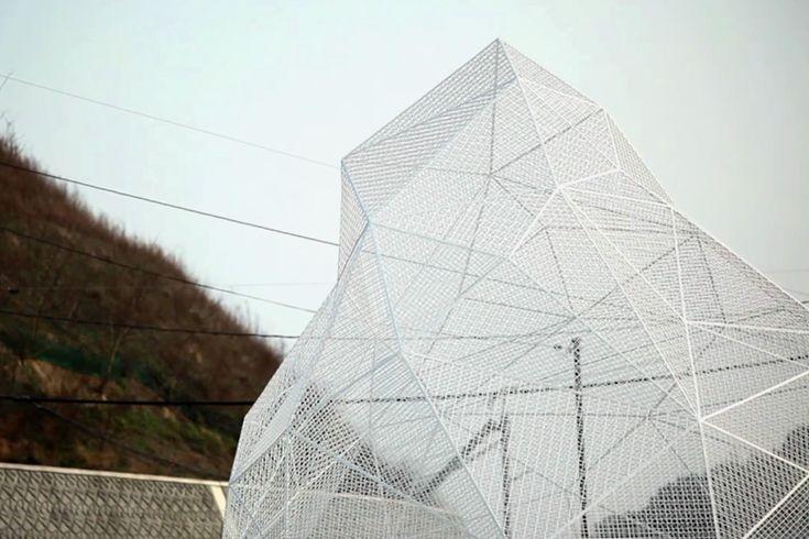 sou fujimoto's geometric naoshima pavilion opens in kagawa, japan