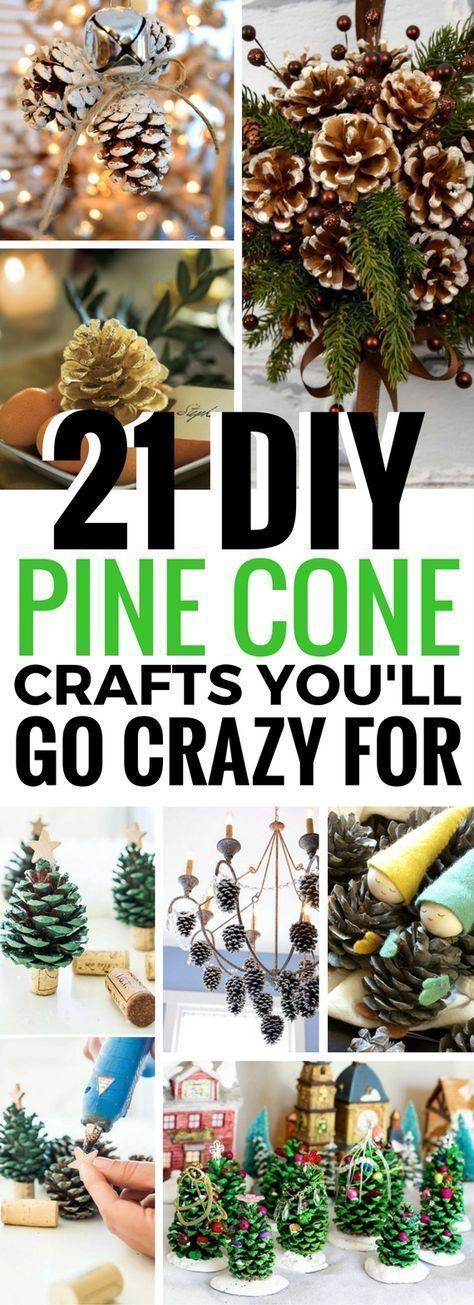 Pine cone crafts decoration ideas