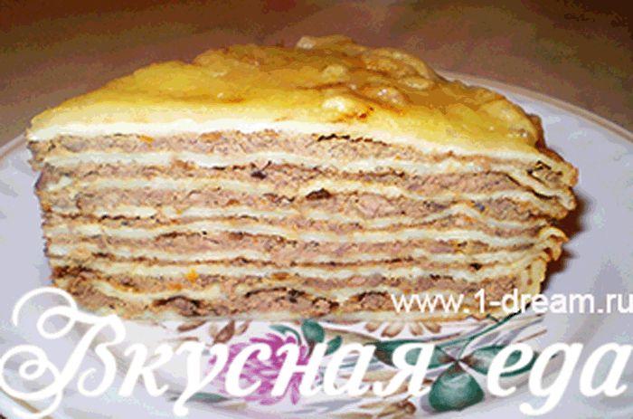 Нежный, сочный и обалденно вкусный БЛИННЫЙ торт с ПЕЧЕНЬЮ. Обсуждение на…