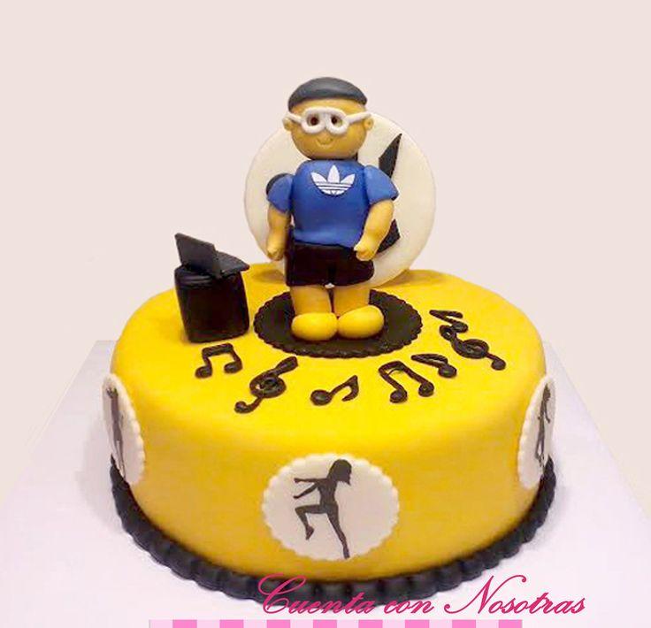 Torta Zumba Torta baile