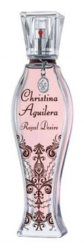 Before we flipped the top off, we were charmed by the complimentary fleur de lis necklace charm that came with the box. The internationally known songstress' latest perfume is elegant and sensual, like the woman herself. Christina Aguilera Royal Desire $47