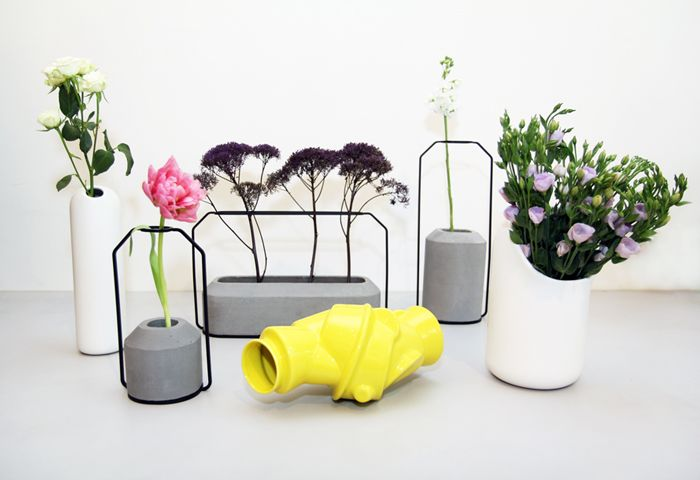 Beautiful vases. #introdesign #accessories #vases #flowers #muuto #mustache #ionnavautrin #weight #dechaarchjananun #closelyseparated