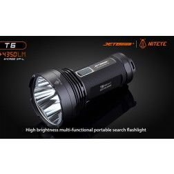 JETBeam T6 High Power LED Flashlight - 4350 Lumens
