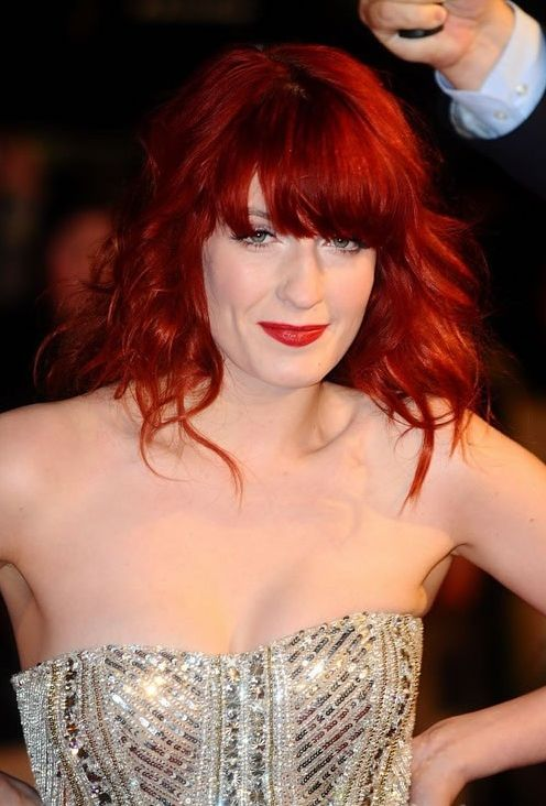 Florence Welch Red Hair Color Base Color With 30 Vol