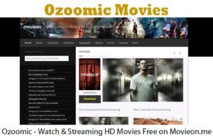 Ozoomic - Watch & Streaming HD Movies Free on Movieon.me