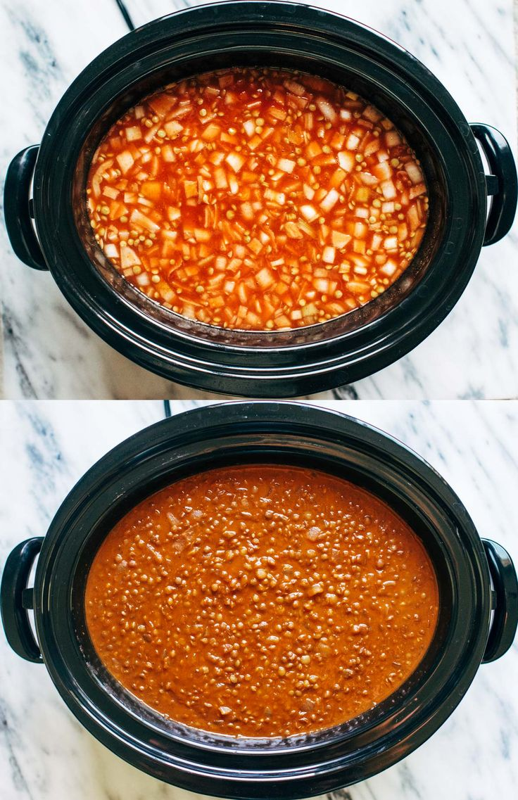 Slow Cooker Red Lentil Curry | pinchofyum.com