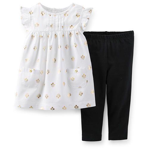 Babies r us black dress leggings