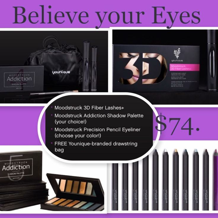 May is here and you know what that means ...  MAY KUDOS : Believe your eyes collection!!  Forbthe Mknth of May only! You get all this for $74.00  ($93.00 retail/20% savings)!!  3D mascara Your choice Addiction palette Your choice eyeliner  And drawstring bag!!   Also a Bonus from me.. Anyone who orders a Kudos Bundle this Month will get a FREE gift !!    https://www.youniqueproducts.com/everydayglam/party/6562706/view