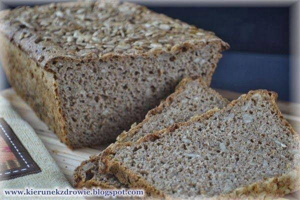 Chleb razowy na zakwasie - ze słonecznikiem - najlepszy!
