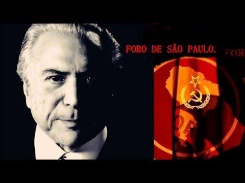 TEMER - UNASUL FORO DE SP & FARC - Povo Brasileiro não confie em SOCIALI...