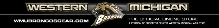 Get all sorts of Bronco gear at the official on-line store of WMU Athletics - portion of the proceeds benefit the athletic department