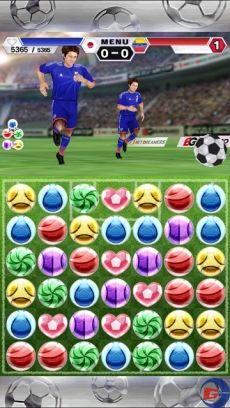 『パズルサッカー』遊び方ガイド!日本代表選手を強化してパズルで戦おう!連鎖&コンボが勝利の鍵に