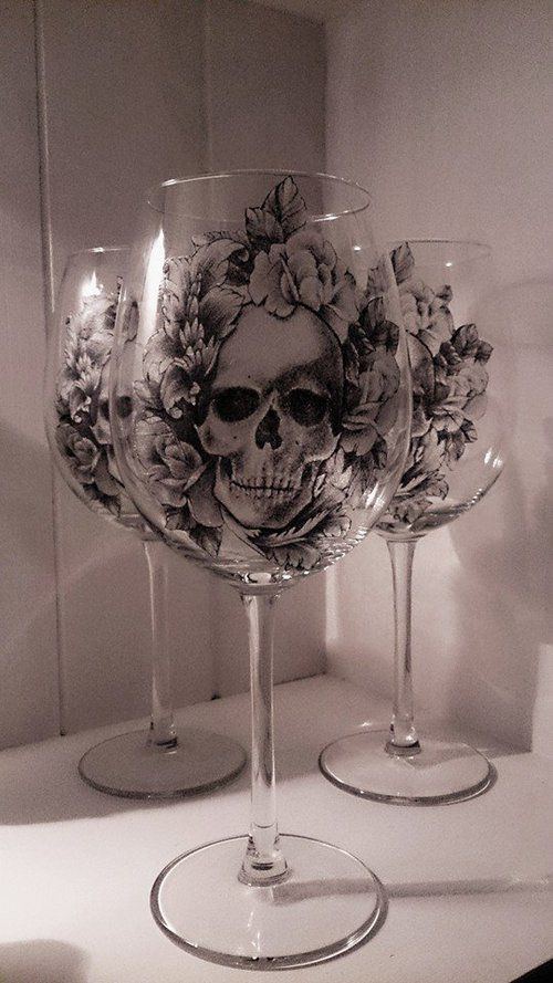 I don't even drink wine but I want these, I'll drink juice in them, whatever.