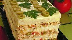 Torta Salgada R$ 35,00 (por pão) - sabores: frango, atum, bacalhau, camarão
