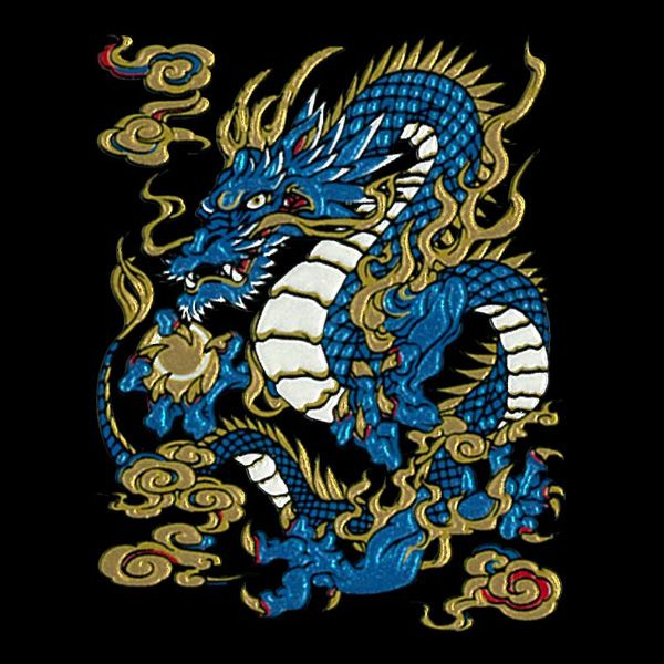 Seiryu(Azure Dragon of the East) | Fancy | Pinterest | The