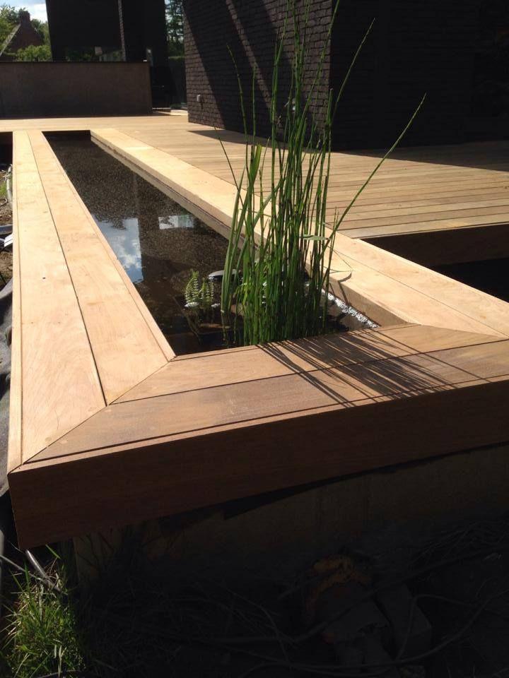 17 beste idee n over houten terras op pinterest pergola schaduw patio en goedkope - Bedek een houten terras ...