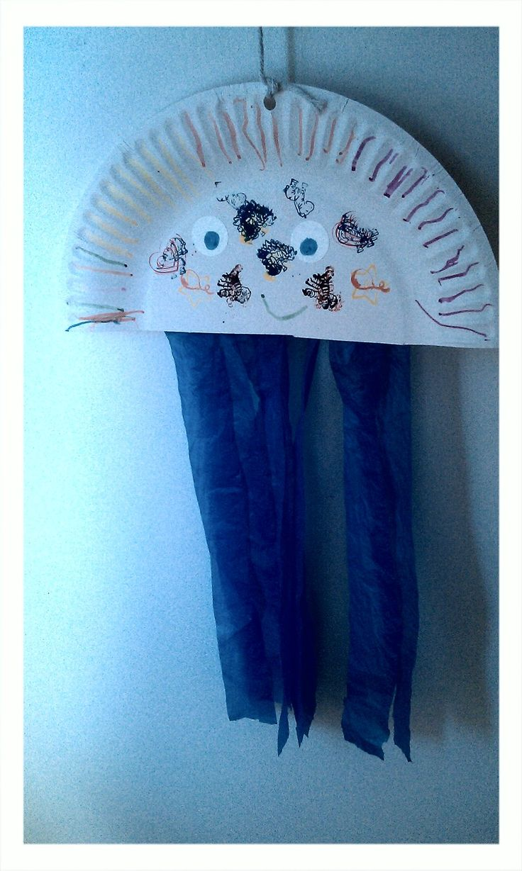 best 25  paper plate jellyfish ideas on pinterest