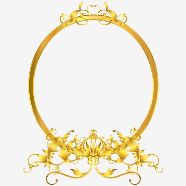 Elegant Mirror Decor With Victorian Ornaments Golden Frame Gold Clipart Leaves Branch Png And Vector With Transparent Background For Free Download Elegant Mirrors Gold Clipart Mirror Decor