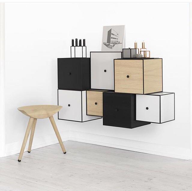 By Lassen corner - classics gathered in a stylish, modern living room.  #bylassen #bylassenframe #ML42 #bylassenstool #bylassenkubus #mogenslassen #madeindenmark #danishdesign #scandinaviandesign #nordicdesign