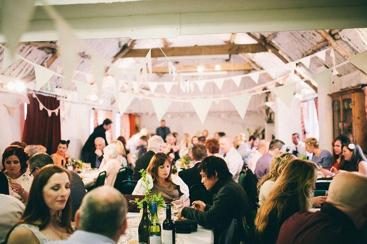 Thrifty, Bohemian Wedding in Northern Ireland: Amanda & James