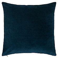 Buy John Lewis Plain Velvet Cushion Online at johnlewis.com