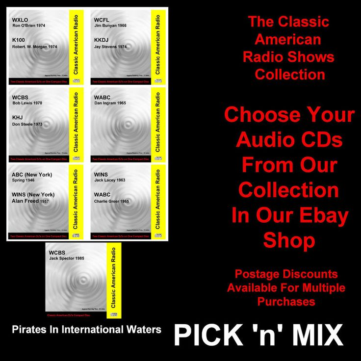 Not Pirate Radio USA American Classic Radio Audio CD PICK 'n' MIX (MULTILISTING)  | eBay