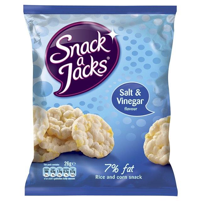 Snack A Jacks Salt And Vinegar Rice Cakes