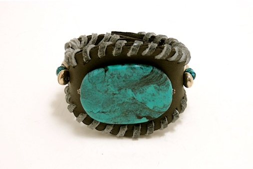 Kayrene Kelley is a leather goddess.  My cuff is similar to this - but everything she makes is pure genius.