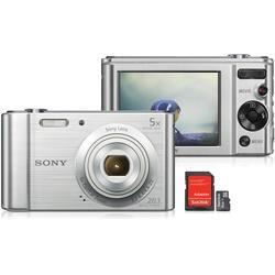 Câmera Digital Sony Cyber-Shot DSC-W800S Prata - R$ 599.9  Walmart BR - walmart.com.br - Sony   #Sale #Sony #Walmart BR #walmart.com.br