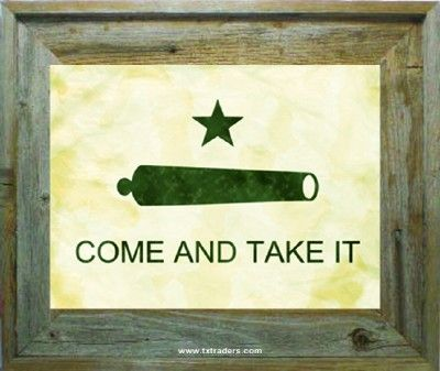 come take it flag