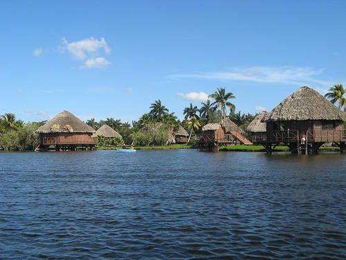 Villa guama bij de krokodillen en de flamingo's