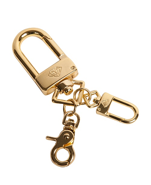 Diamond Supply Co. - U-Lock Keychain (Gold) $50