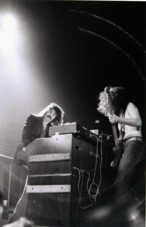 Deep Purple. Jon Lord (+2013) master at the Hammond organ