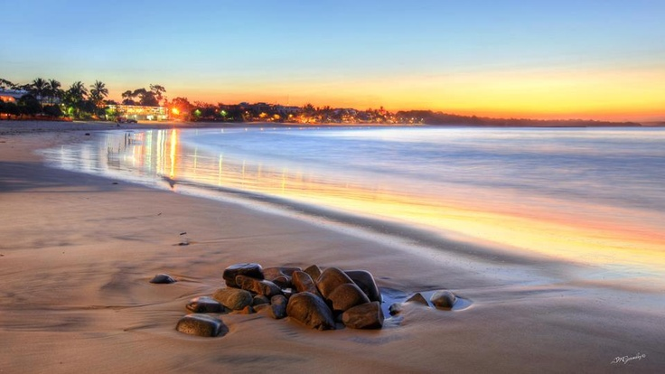 Sunset at Noosa Heads.