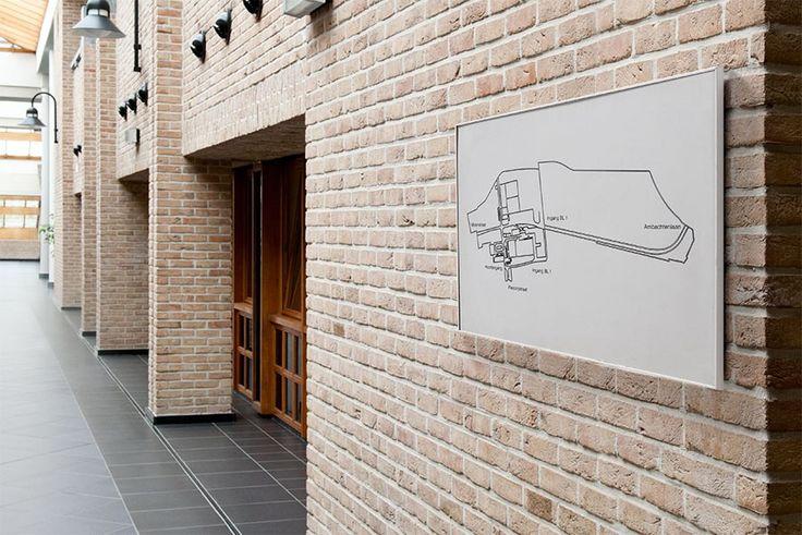 Oversigts skilt / infotavle skilt I-Sign serien. Se meget mere på www.kontorskilte.com