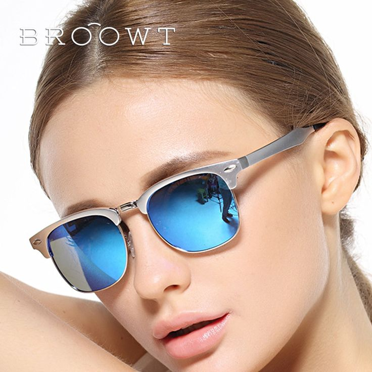 BROOWT Brand Fashion women's UV400 protection Sunglasses Alloy Driving Sun Glasses for women BR421