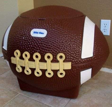 Little Tykes Football Toy Box Was Very Special It Was The