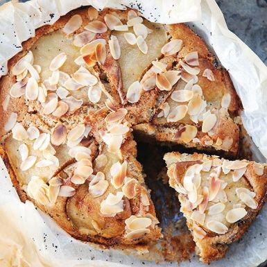 Recept: Päronkaka med kardemumma