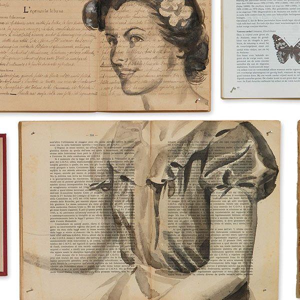 Biblioteca EKA-04 Wallpaper Mural by Ekaterina Panikanova + NLXL