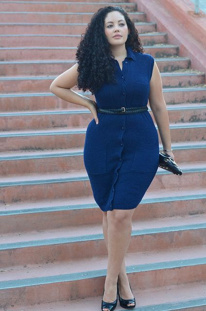 Tanesha Awasthi from the blog Girl with Curves.   http://girlwithcurves.tumblr.com/