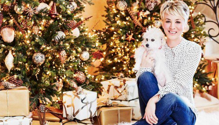 Το Χριστουγεννιάτικο Σπίτι της Πρωταγωνίστριας του «The Big Bang Theory»