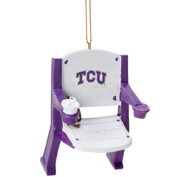 TCU Horned Frogs Stadium Chair Ornament - $11.99