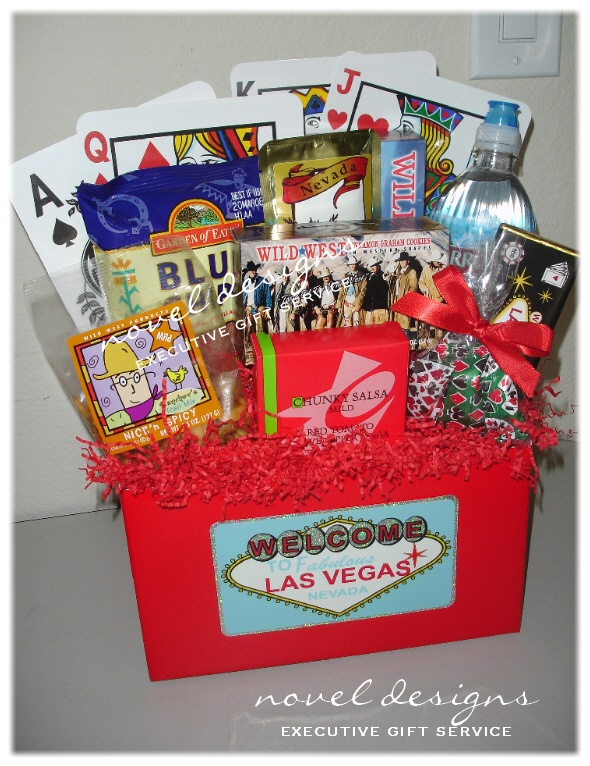 las vegas theme gift baskets lasvegas corporate giftbaskets